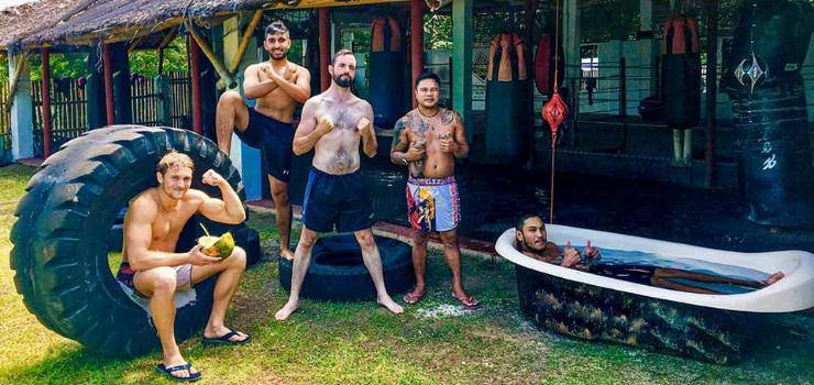 Kampfsportparadies am Sandstrand: MMA & Boxcamp